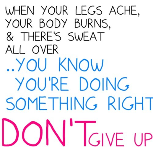 Workout Quotes For Her: Alison Loves Her Zumba Family
