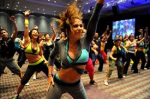 Zumba dancer group